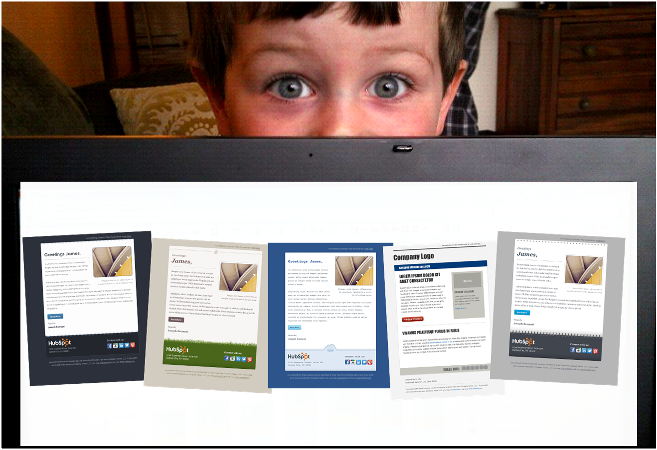 email design kid
