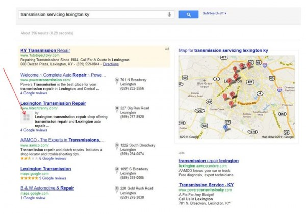 google plus integration with google places