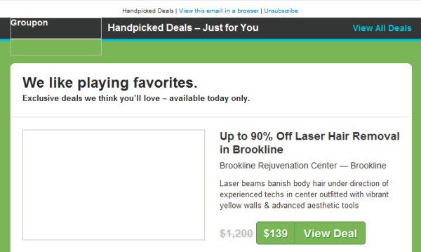 groupon email images