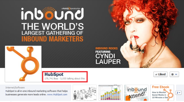 hubspot facebook page resized 600