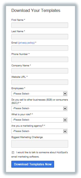hubspot full form shadow