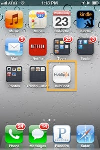 HubSpot Apple Icon