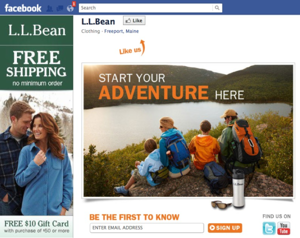 LL Bean Facebook resized 600