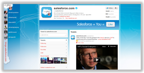 Salesforce Twitter Background