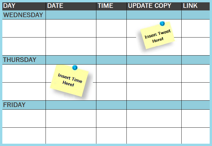 social media publishing schedule image   Copy