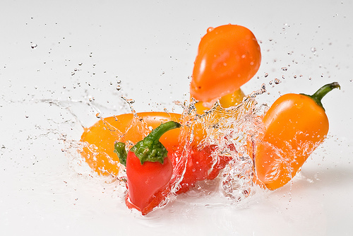 splash of pepper