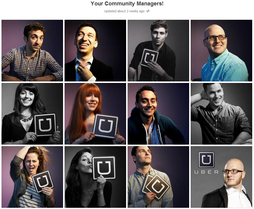 uber community managers