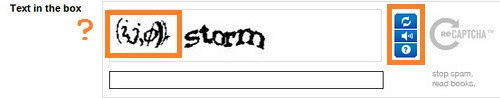 unintelligible captcha