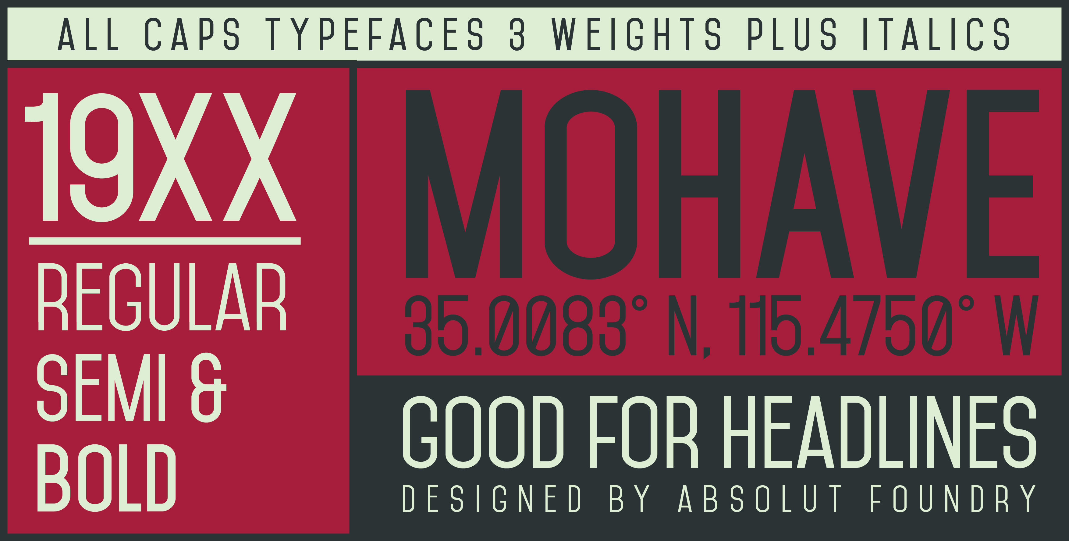 mohave-font
