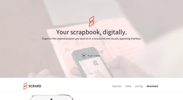 Scrapd Homepage