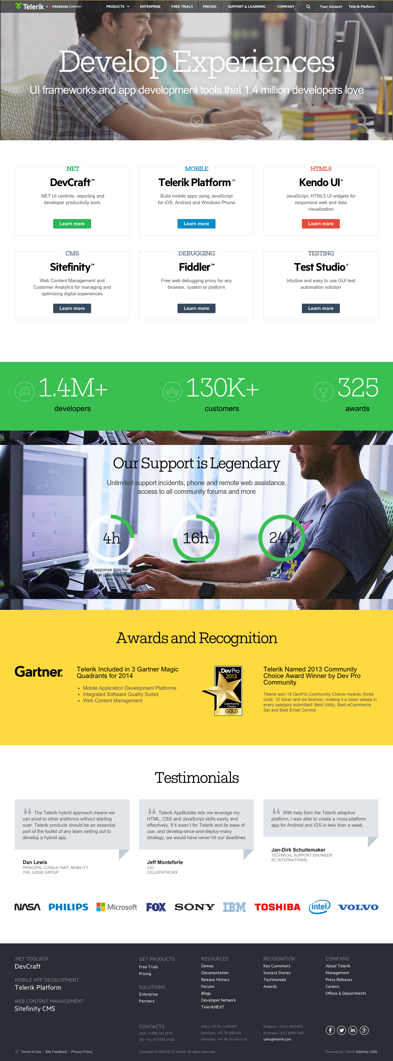 15 Examples Of Brilliant Website Homepage Design