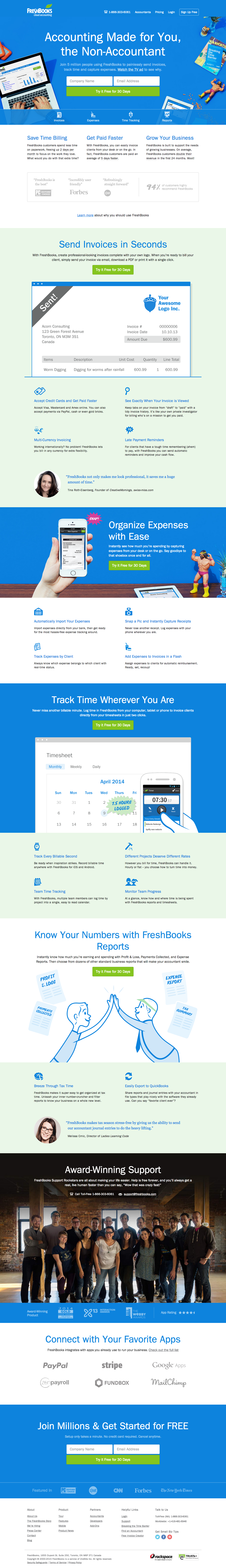 15 of the best website homepage design examples - creative splash