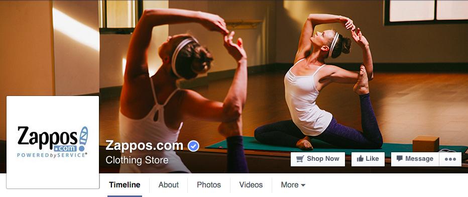 zappos-facebook-page