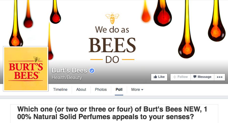 burts-bees-facebook-page