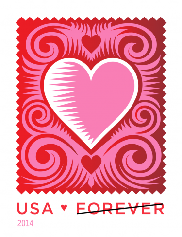 Stamp Photographed with Love