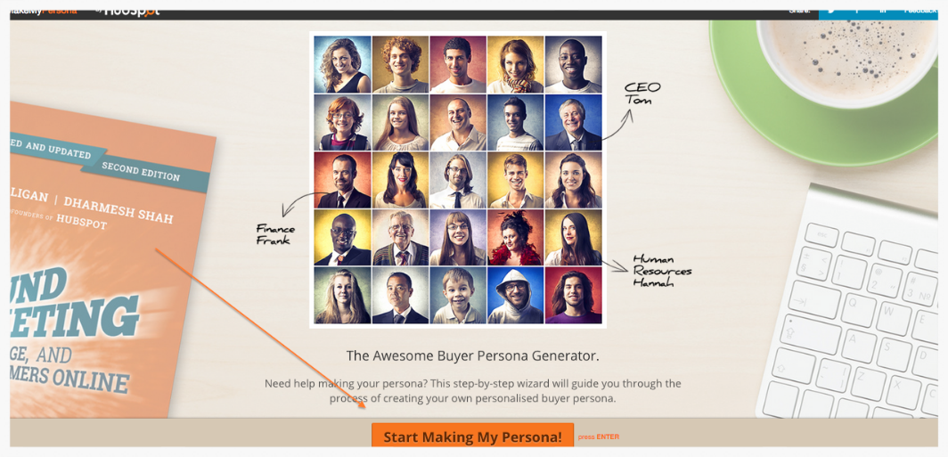 Buyer Persona MakeMyPersona