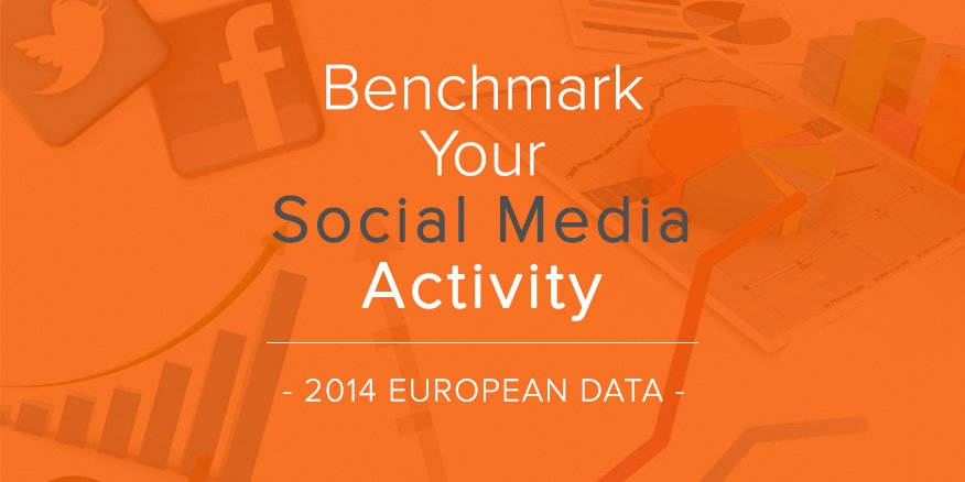 European Social Media Benchmark Statistics