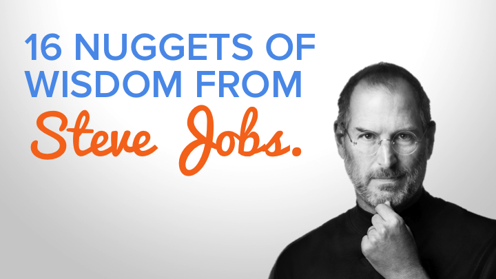 Inspirational Quotes From the Late, Great Steve Jobs [SlideShare]