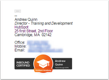 how to add hubspot certification to linkedin