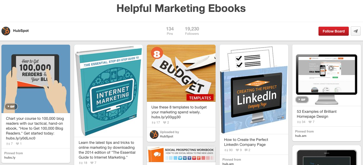hubspot-ebooks-pinterest