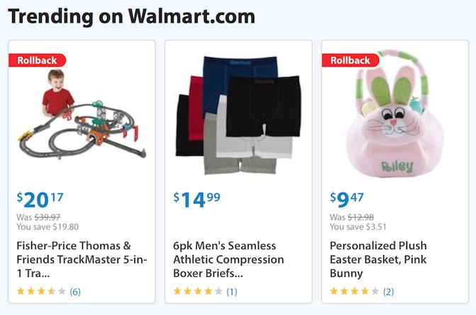 WalMart Example
