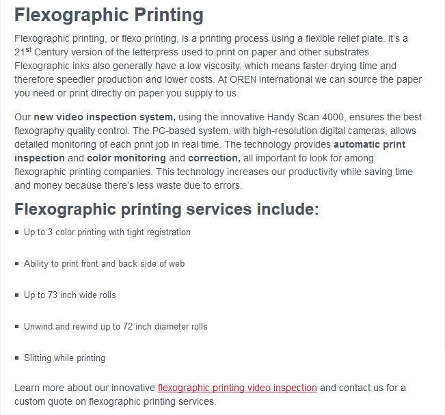FlexographicPrinting