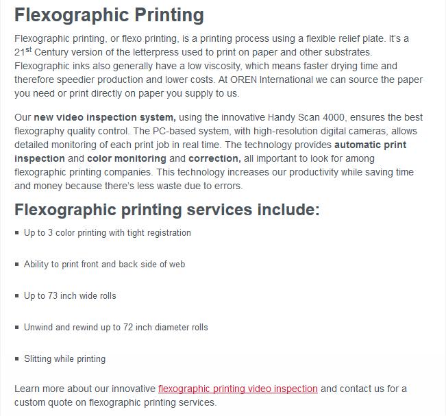 FlexographicPrinting