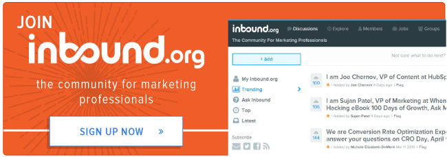 become a member of inbound.org
