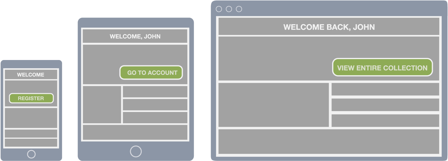 How to Build Dynamically Changing Page Content on the COS