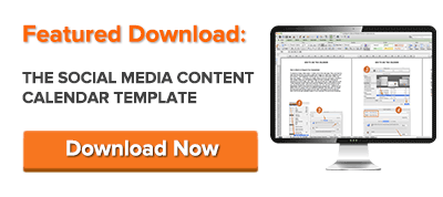 The Social Media Content Calendar Template Every Marketer Needs – Sample Social Media Calendar