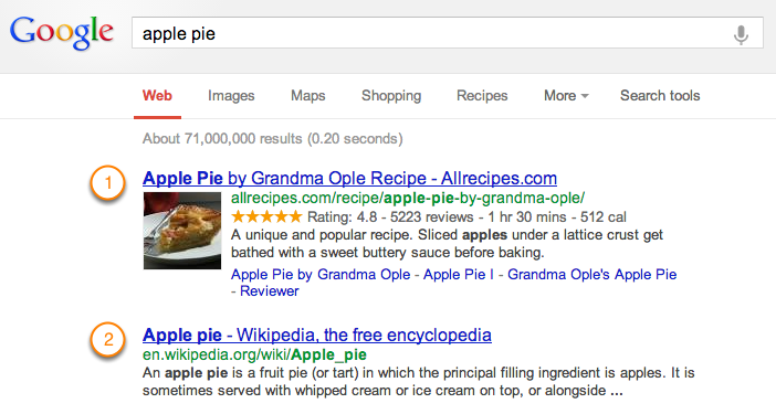 google-rich-snippet-example-1