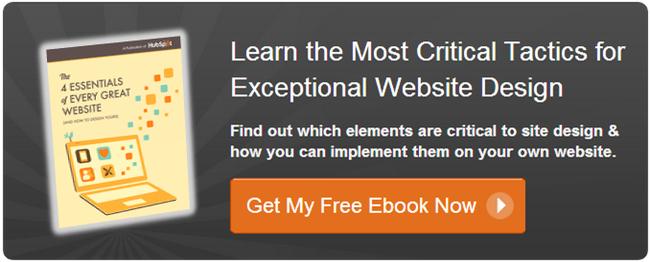 get your free website design ebook