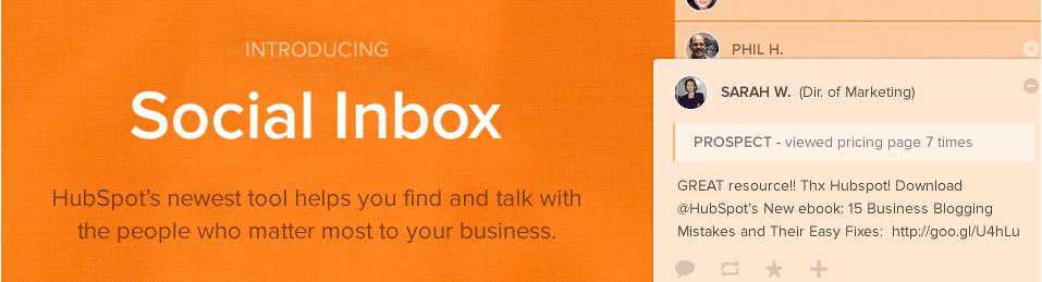 Social-inbox-demo-page
