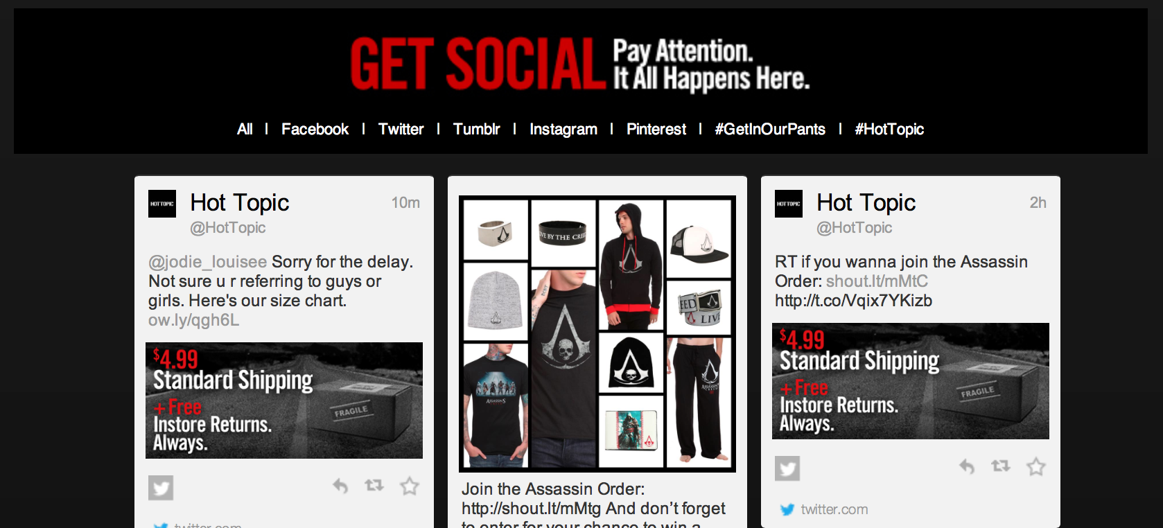 necessary ecommerce site features social sharing