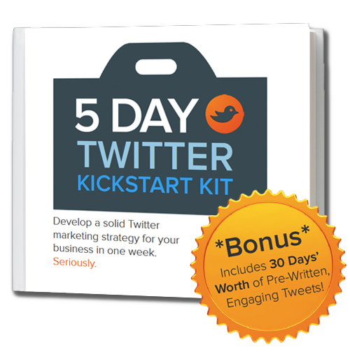 Five-Day Twitter Kickstart Kit | Get More Followers And Engagement