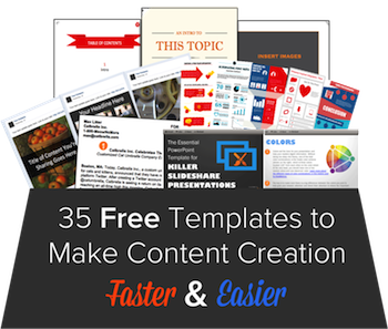 35 Free Templates to Make Content Creation Faster & Easier