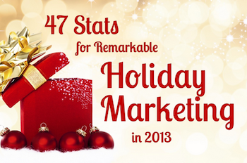 47 Stats to Supercharge Your Holiday Marketing [SlideShare]