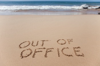 Out Of The Office - At The Beach