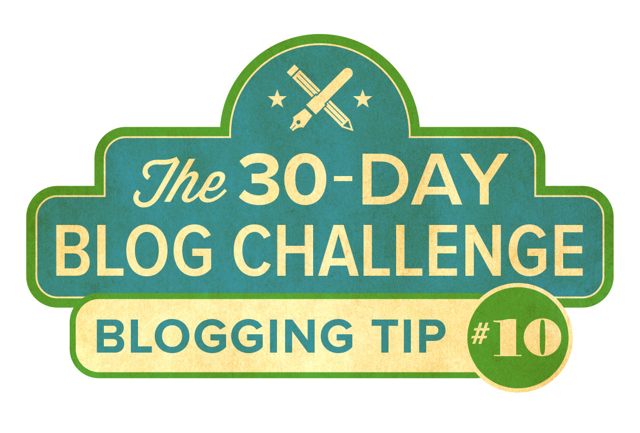 30-Day Blog Challenge Tip #10: Keep a Blog Journal