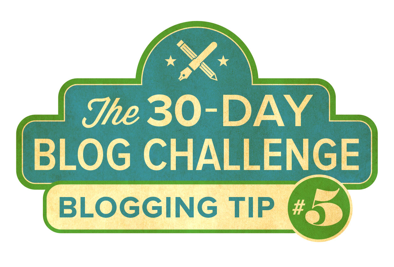 30-Day Blog Challenge Tip #5: Use Bulleted Lists
