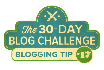 30-Day Blog Challenge Tip #17: Use H1 Tags