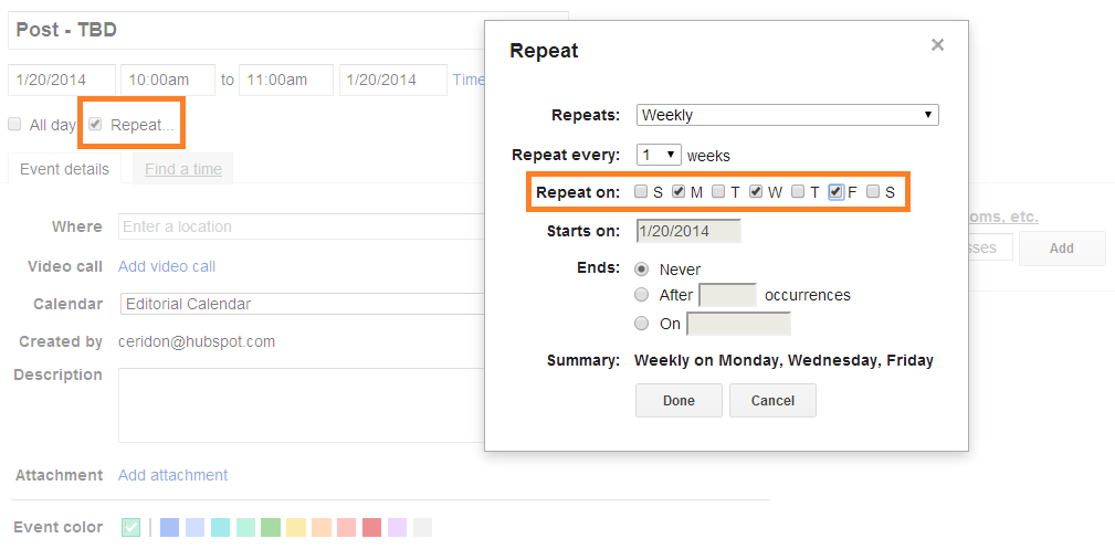 How To Create A Robust Editorial Calendar For Free Using