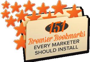 20 Browser Bookmarks Every Marketer Should Install [SlideShare]