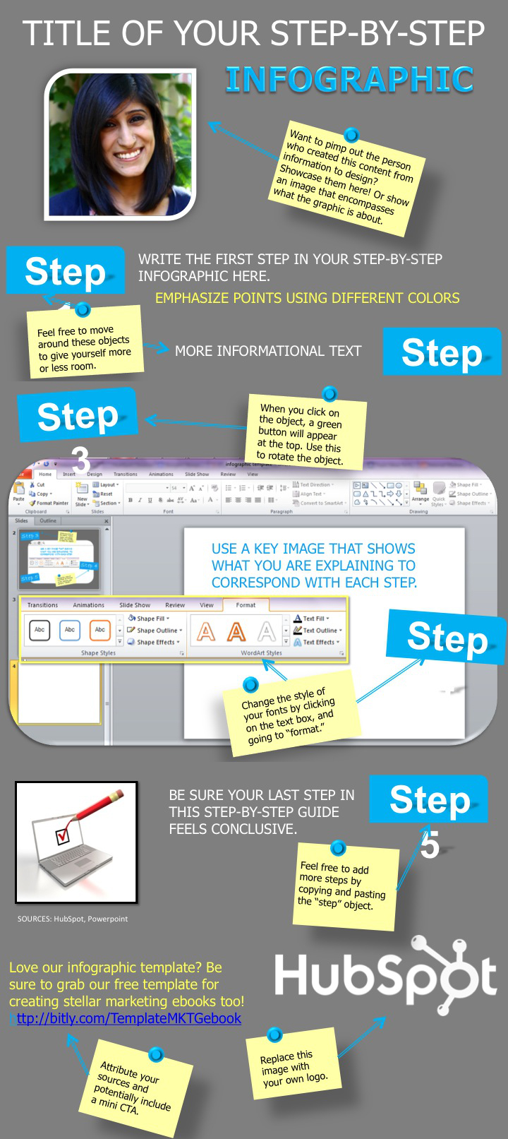 how to make an infographic in powerpoint