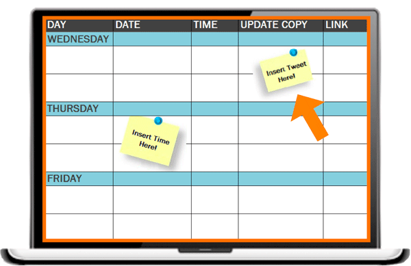 Social Media Publishing Schedule Template | Organize Your Updates