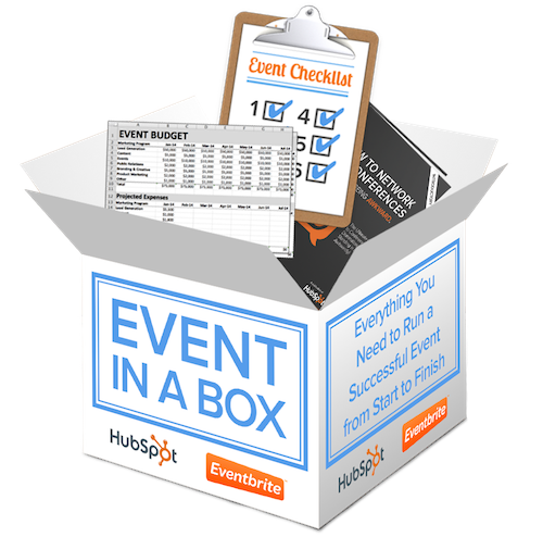 Event in a Box - Free Resources for Planning Your Next Event