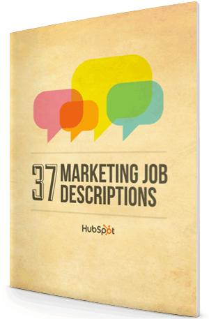 Sample Marketing Job Descriptions