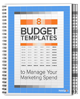 Free Download: 8 Budget Templates to Manage Your Marketing Spend