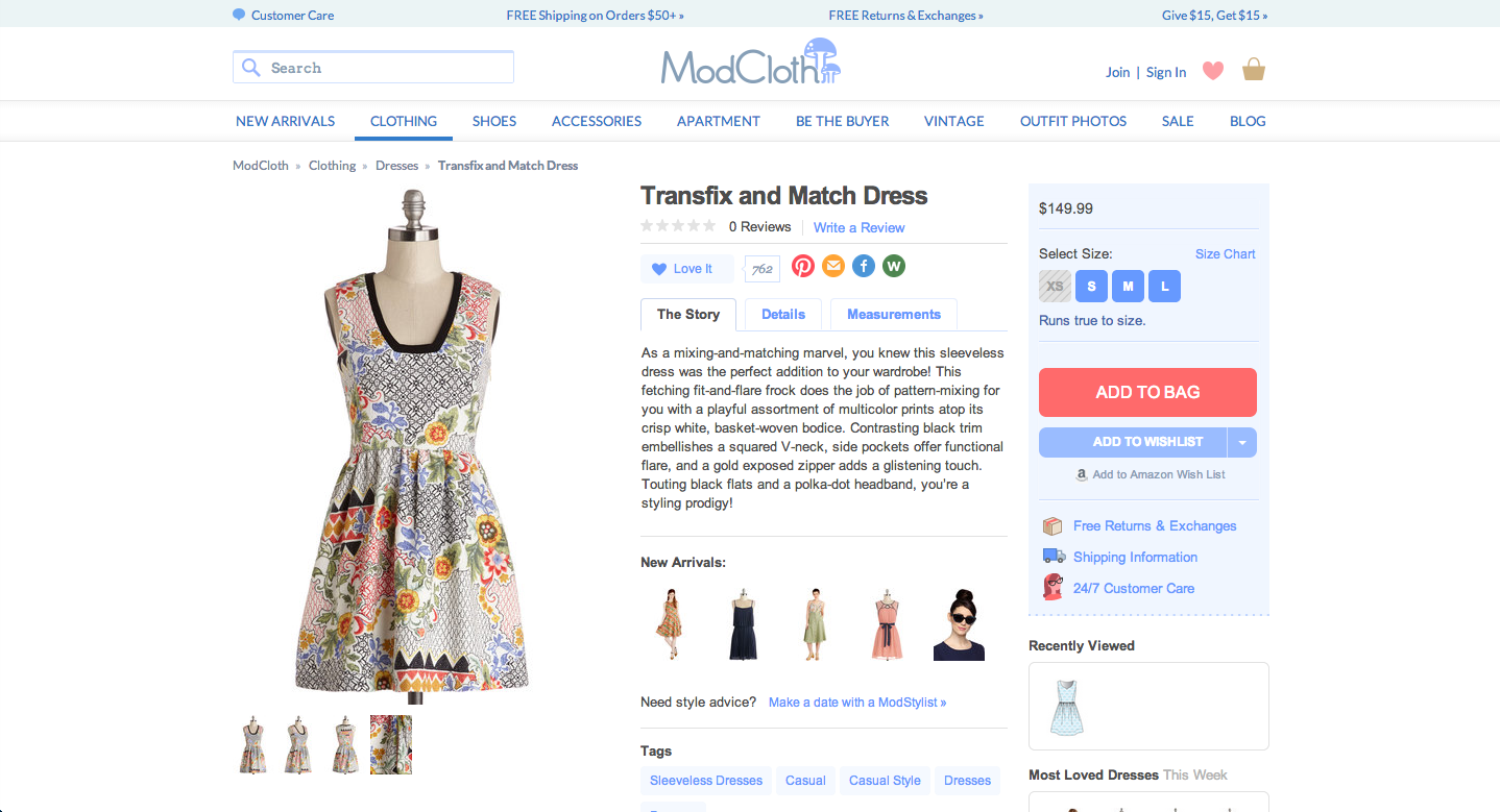 10 Drool-Worthy Product Pages (And Why We Love Them)