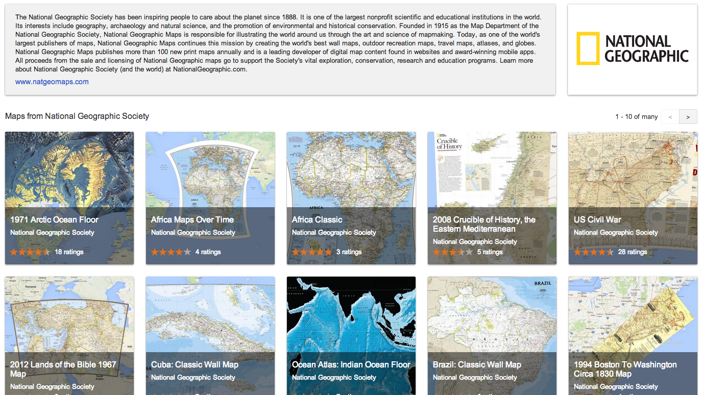 Google Maps Gallery: Showing Your Work Just Got a Lot Easier